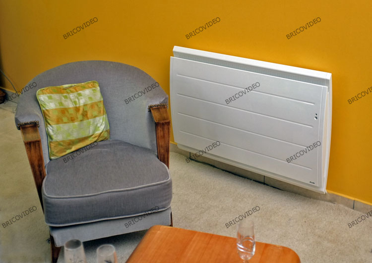 installation radiateur electrique