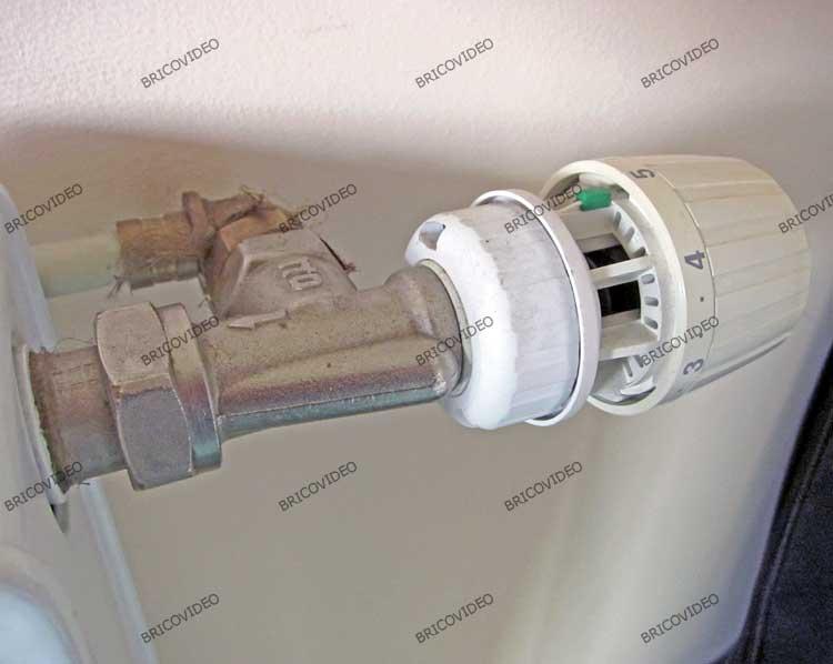 robinet radiateur danfoss