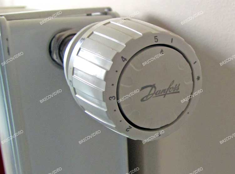 robinet thermostatique danfoss