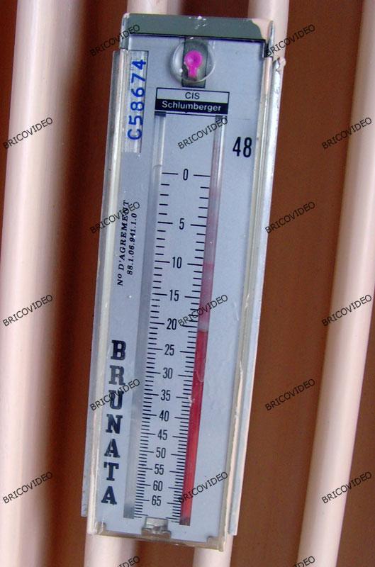 thermometre radiateur