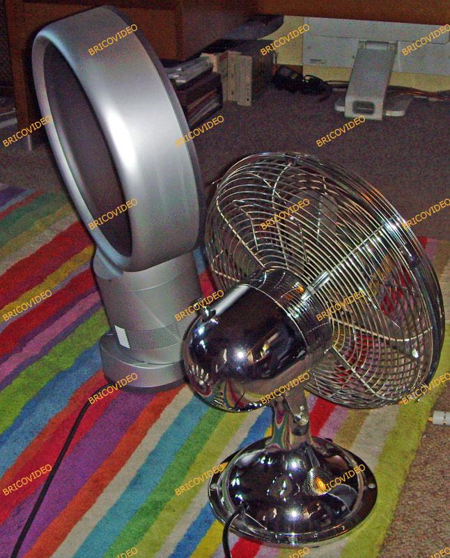 test ventilateurs dyson