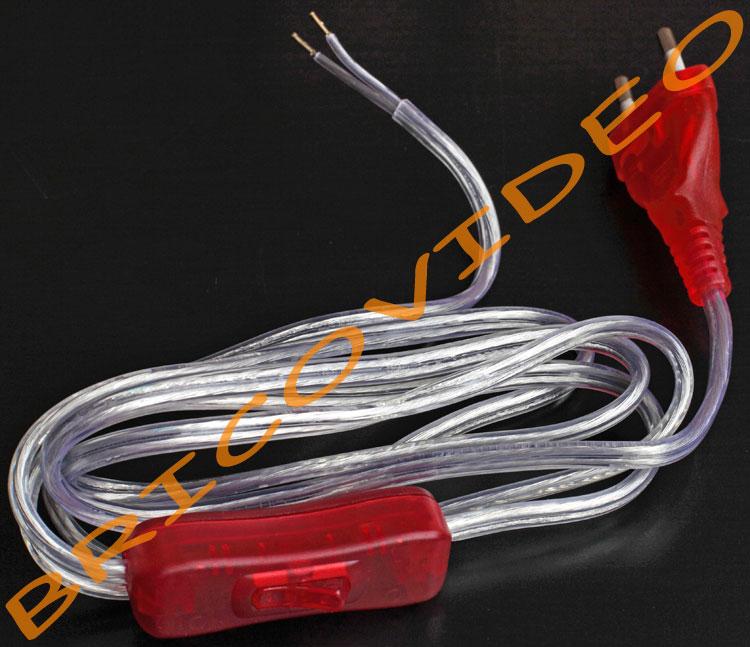 prise interrupteur translucide