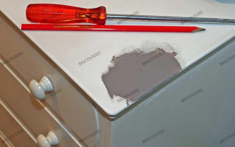 bricolage test peinture