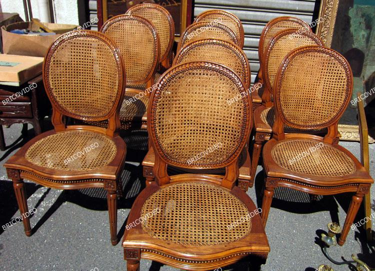 chaises bois deco