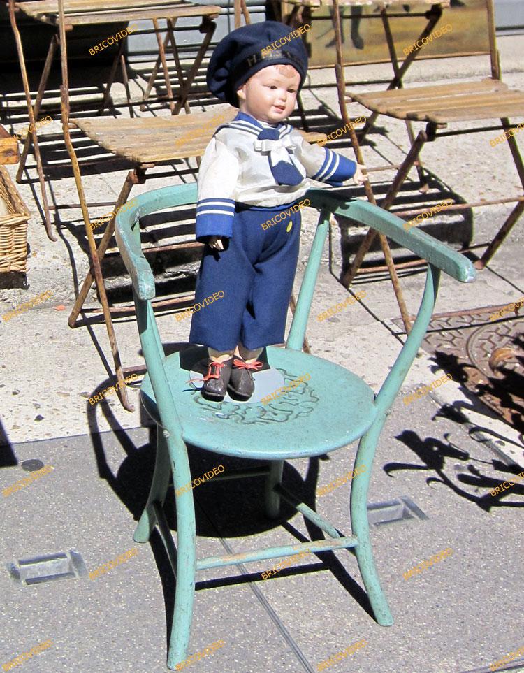 chaises deco antiquaire