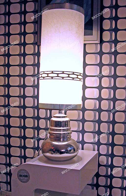 lampe deco 1970