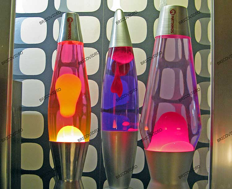 lampes decoration 1970