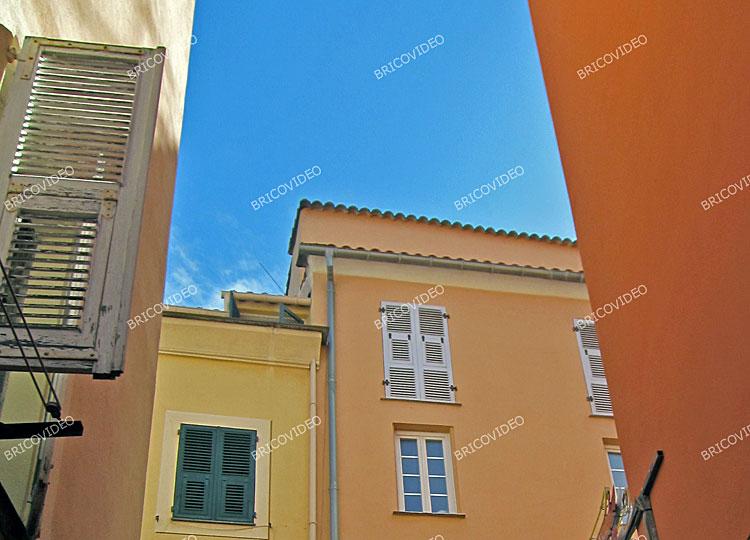 maisons couleurs deco