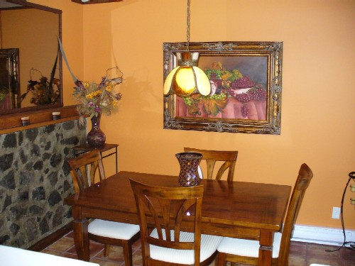 Bricoler d coration maison couleurs salle manger ouverte for Decoration murale salon salle a manger