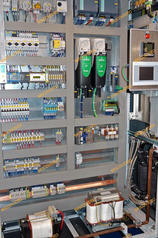 armoire electrique sch