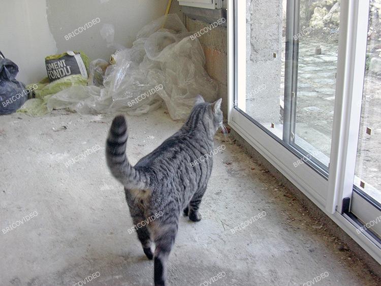 installation baie vitree