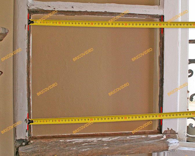 mesure remplacement vitre