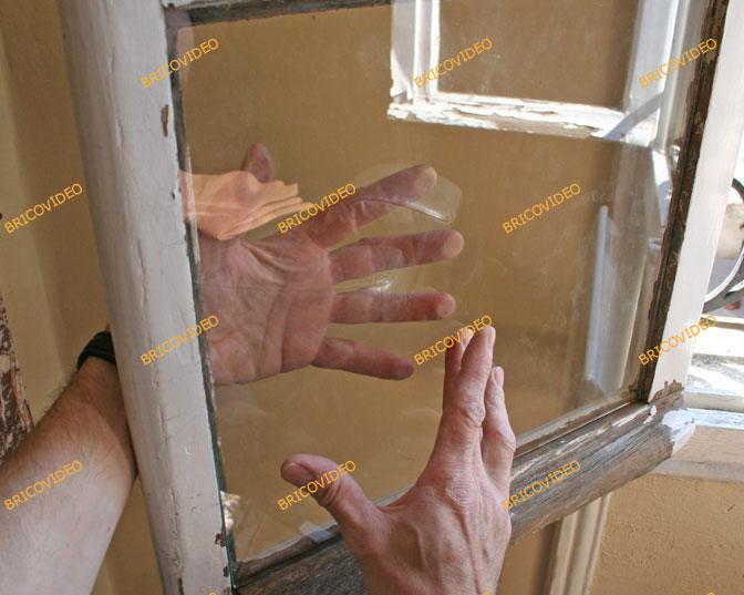 positionner vitre fenetre