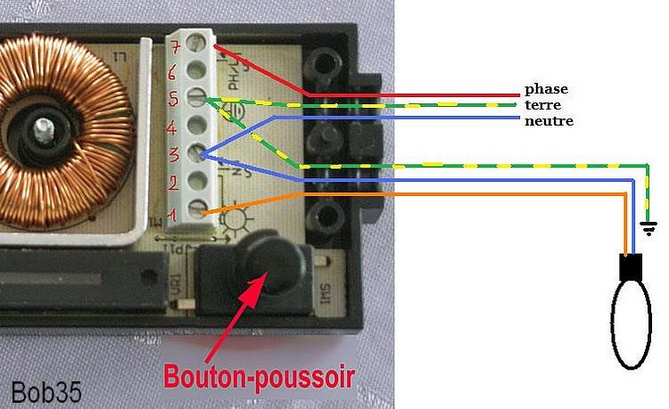conseils pour vos travaux recherche sch ma pour brancher une prise interrupteur. Black Bedroom Furniture Sets. Home Design Ideas