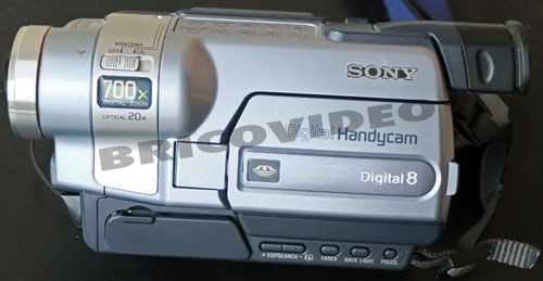 sony digital 8