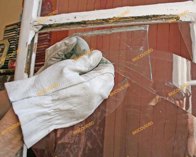 vitre cassee remplacer vitre cass