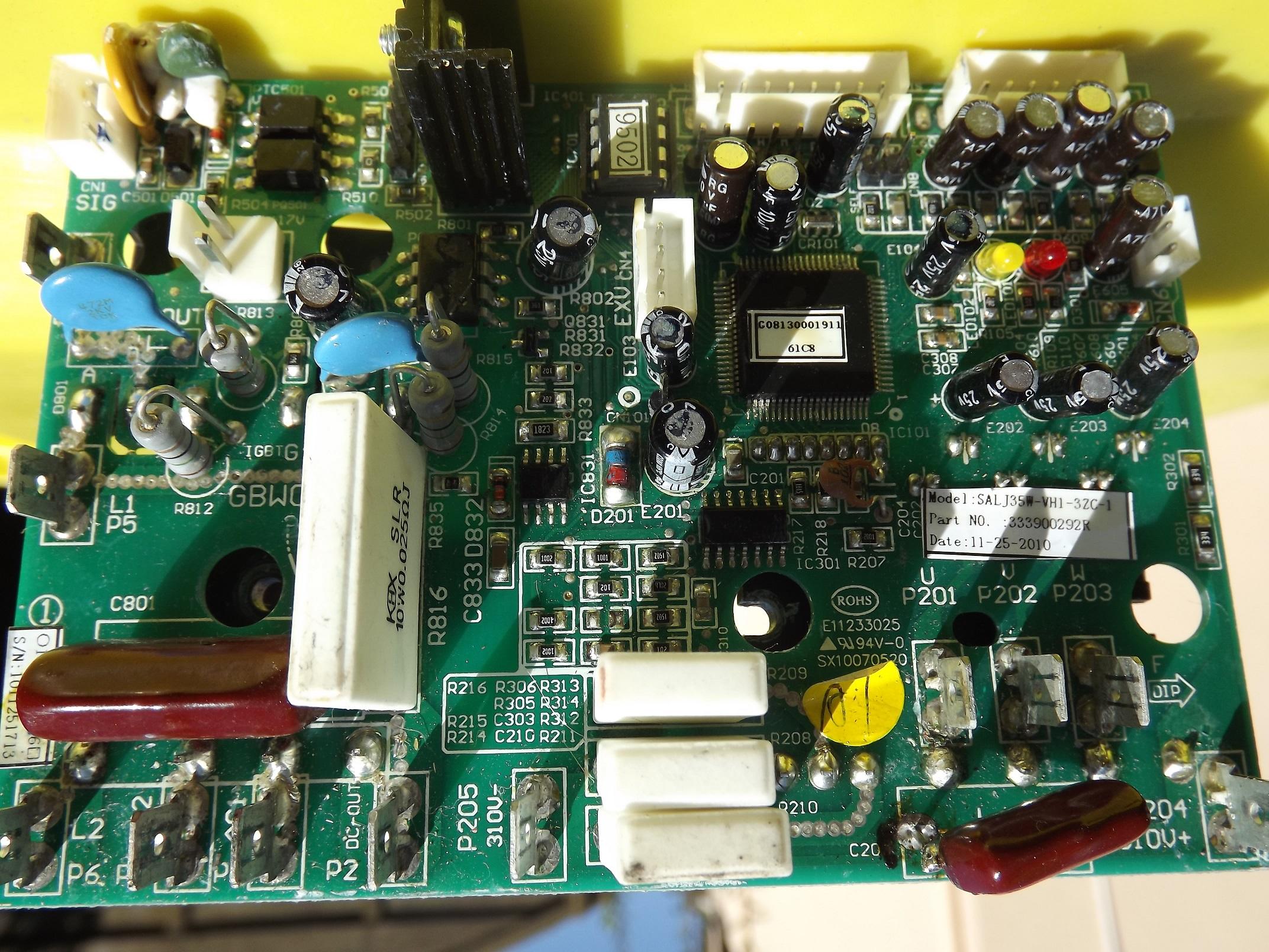 Forum climatisation d pannage carte lectronique climatisation inverter - Faire une clim avec un ventilateur ...