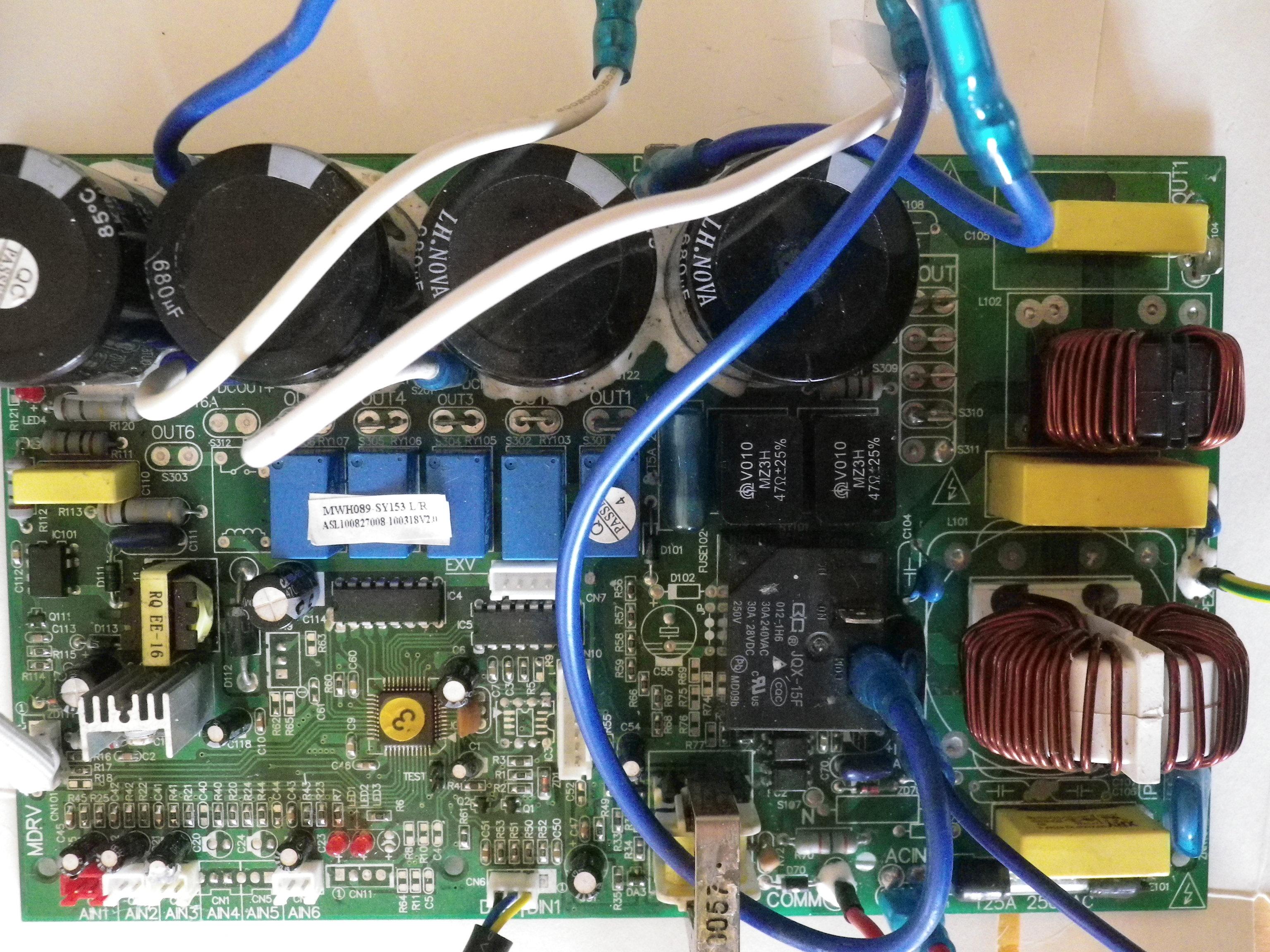 D pannage panne pac air eau carte lectronique ne fonctionne plus - Comment tester un circuit electronique ...