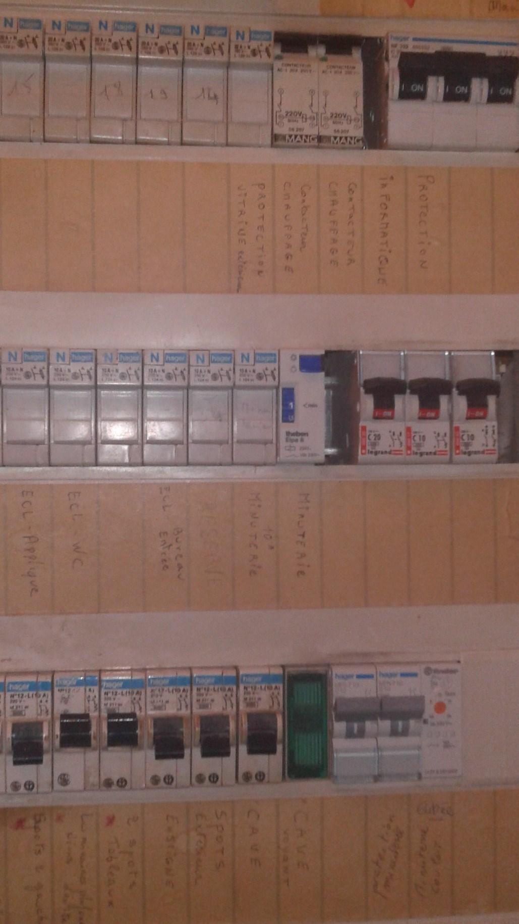 Raccordement tableau lectrique secondaire au tableau principal - Tableau electrique secondaire ...