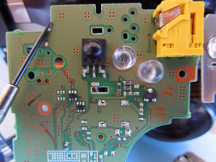 circuit camescope trv 238e