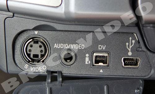 connectique camescope sony digital 8