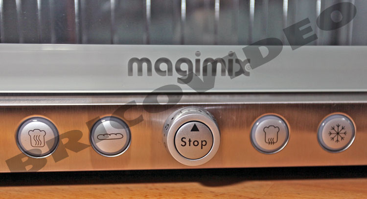 grille pain magimix toaster vision inox