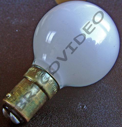 ampoule baionnette b15 40w