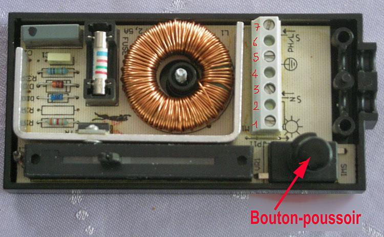brancher variateur lampe halogene