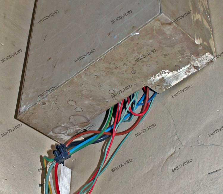 bricolage branchement electrique dangereux