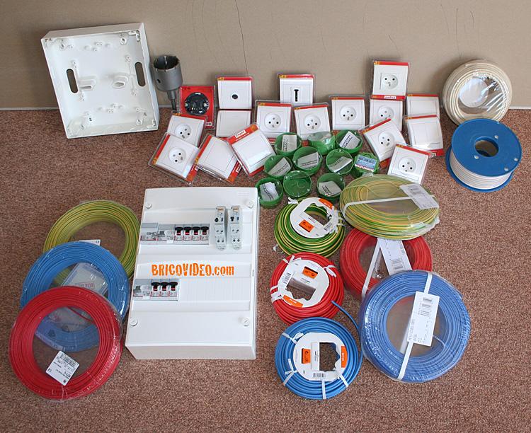 bricolage fournitures electricite