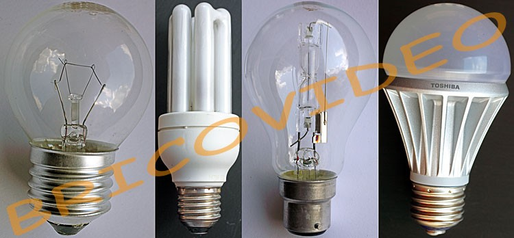 choisir une ampoule
