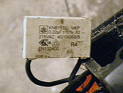 condensateur filiere virax