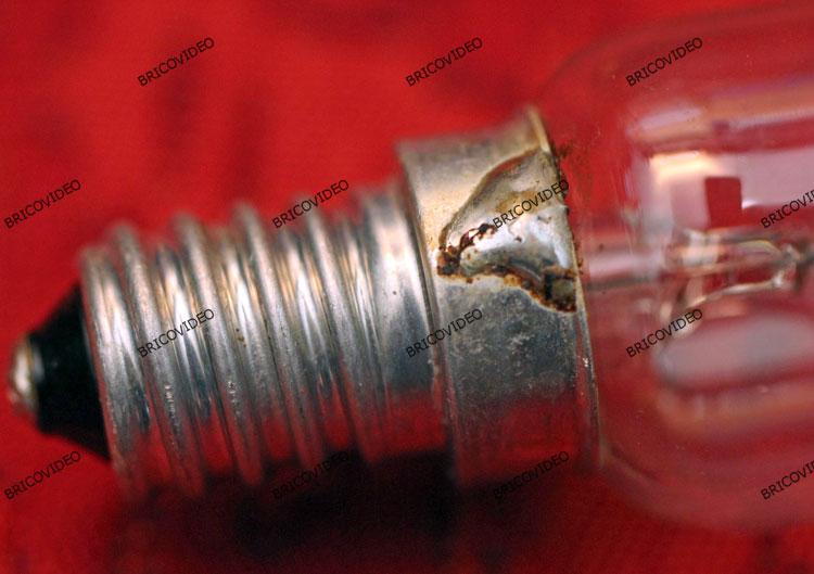 culot ampoule