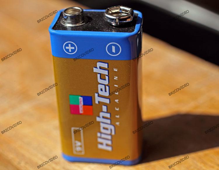 pile 9 volts