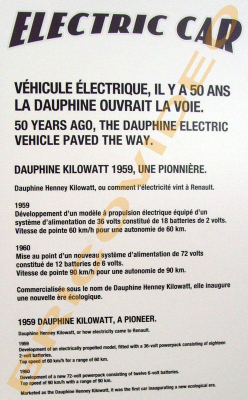 voiture electrique 50 ans