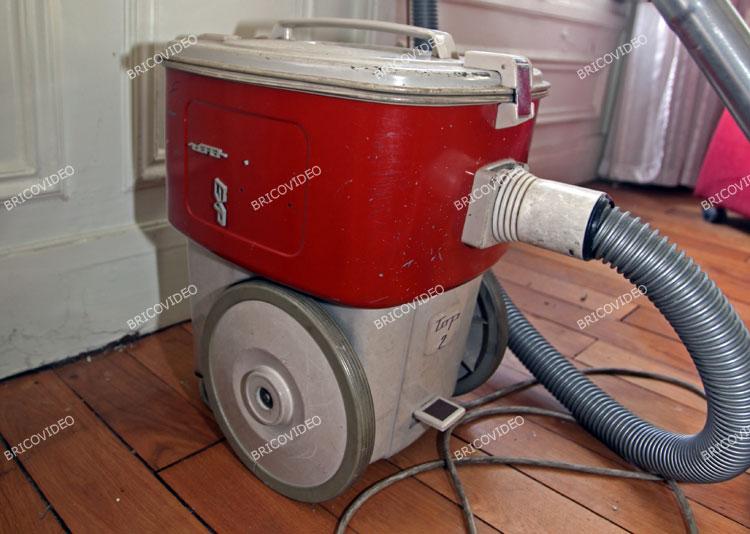 lave linge/aspirateur retro