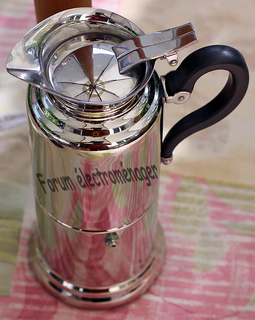 lave linge/cafetiere italienne