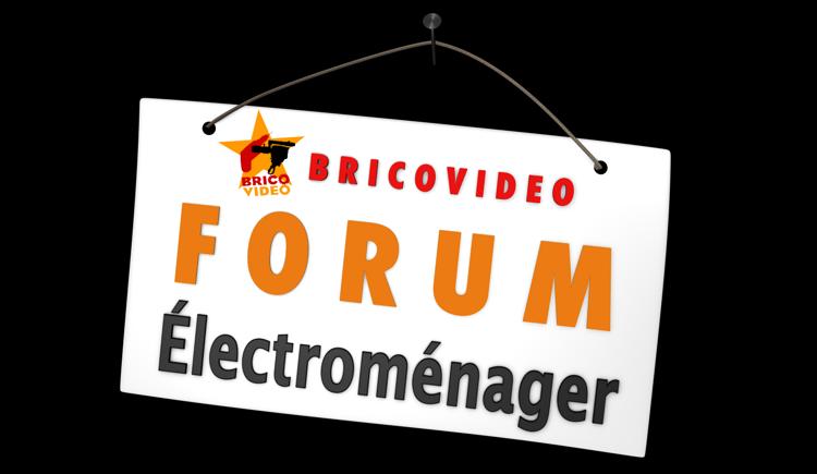 lave linge/forum electromenager