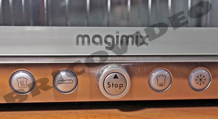 lave linge/grille pain inox magimix