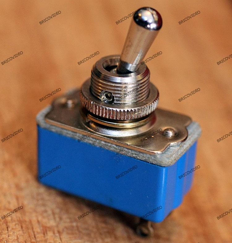 lave linge/interrupteur