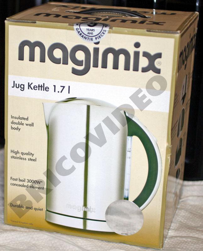 lave linge/magimix bouilloire inox