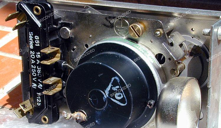 lave linge/remplacer programmateur