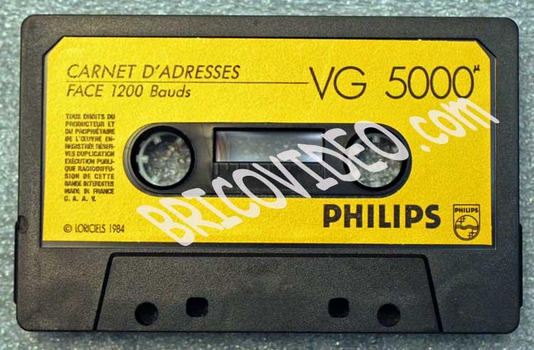 cassette vg5000