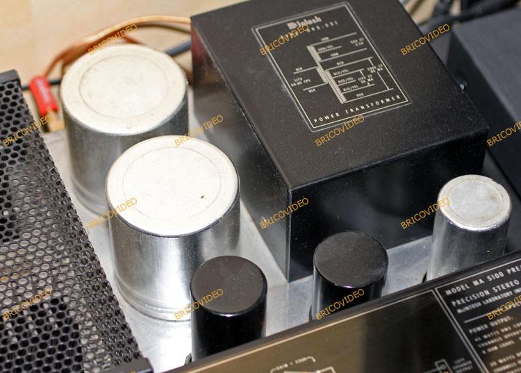condensateurs mcintosh ma 5100