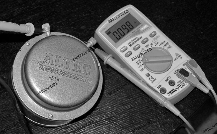 mesure bobine haut parleur