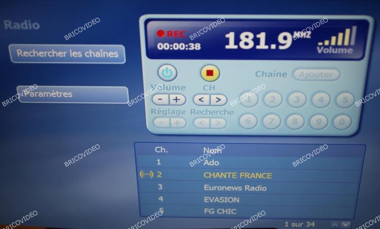 radio numerique usb