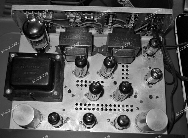 restauration ampli a tubes harman kardon