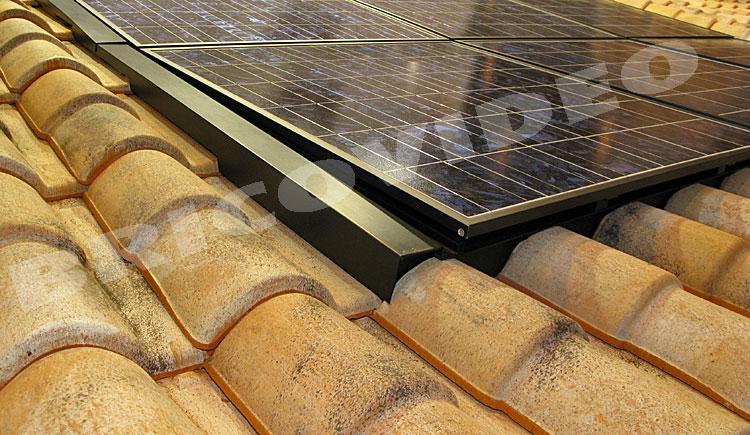 litige installation paneaux solaires