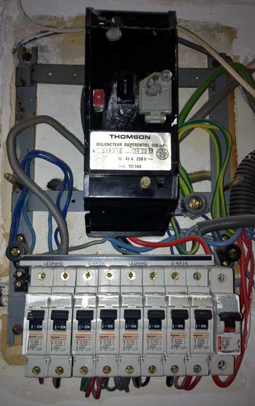 norme tableau electrique