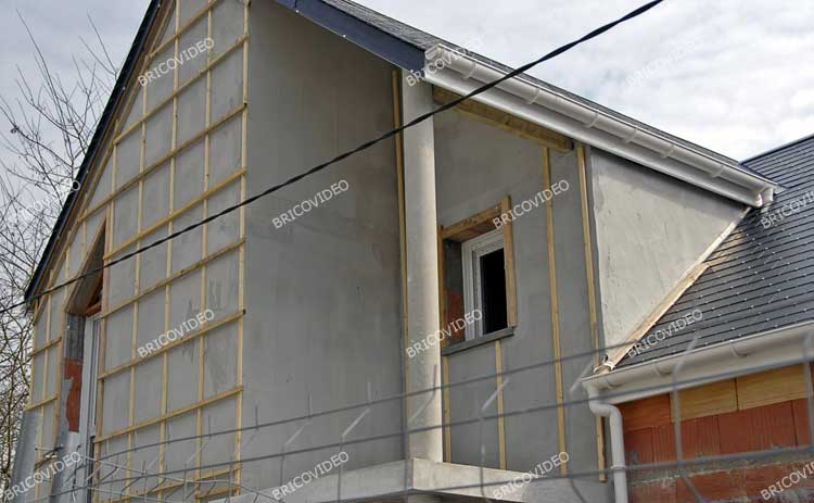 bardage construction maison